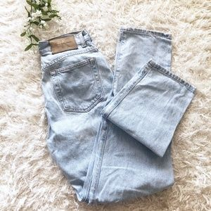 Vintage 90s Calvin Klein High Rise Straight Jeans